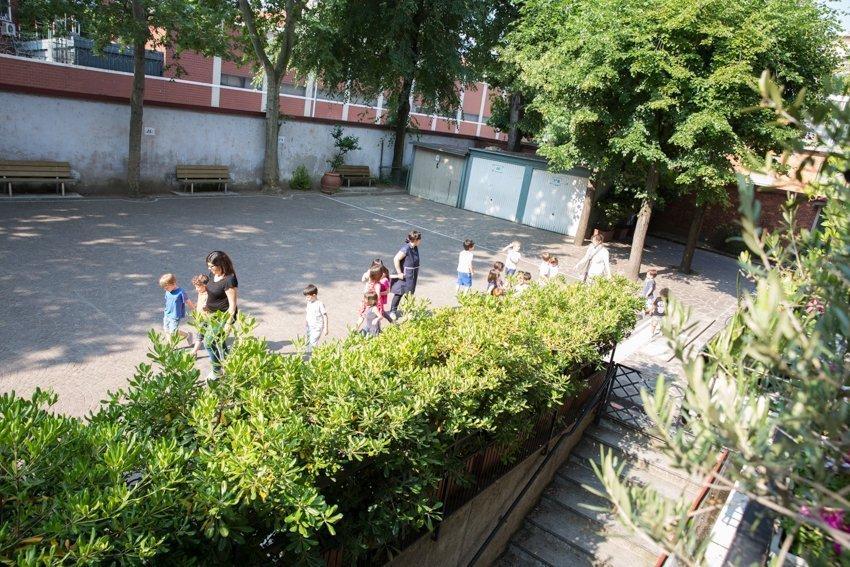 Scuola La Zolla Milano via Carcano