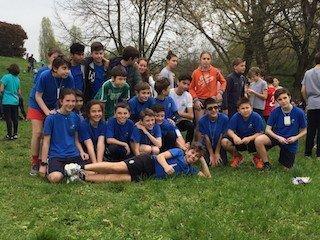 Corsa al Parco Nord, campestre a Milano. Scuola la Zolla