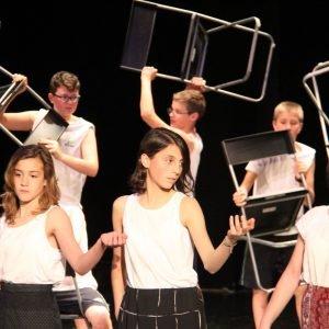 Iliade a Teatro, scuola la Zolla di Milano
