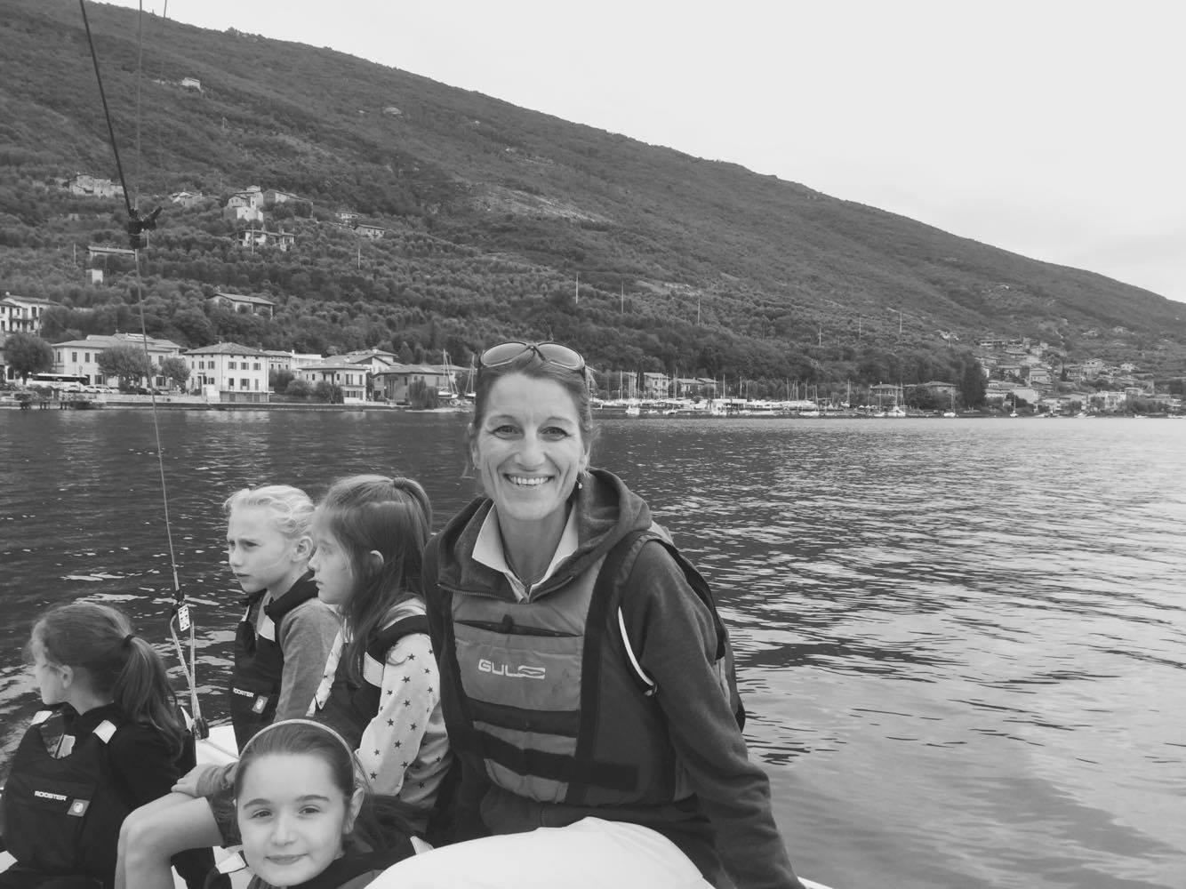 la primaria de La Zolla di via Carcano a scuola di vela