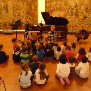 la scuola dell'infanzia al museo degli strumenti musicali