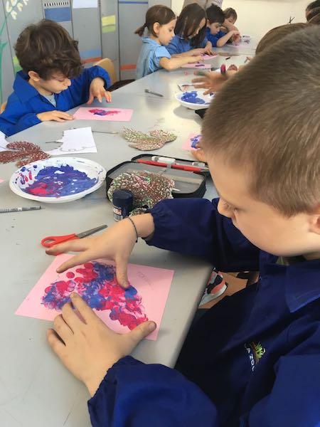 la vendemmia tra scienze e arte alla primaria La Zolla di via Carcano