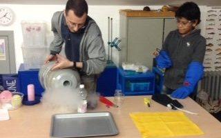 laboratorio gas secondaria La Zolla via carcano