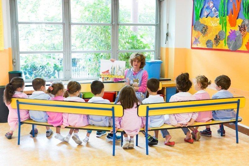 scuola la zolla, lettura, narrazione