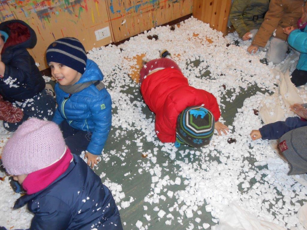 la Zolla infanzia _ inverno _ neve