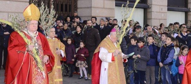 cardinale scola, domenica delle palme, scuola la zolla