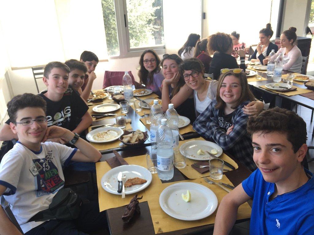 Secondaria La Zolla gita scolastica