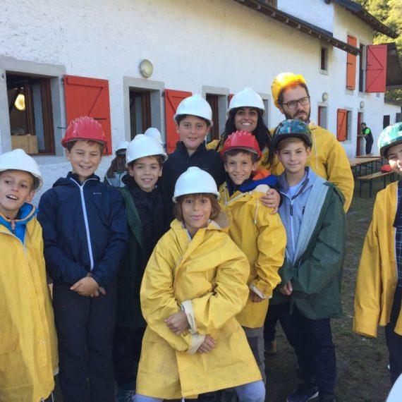 Prime Scuola Secondaria in miniera