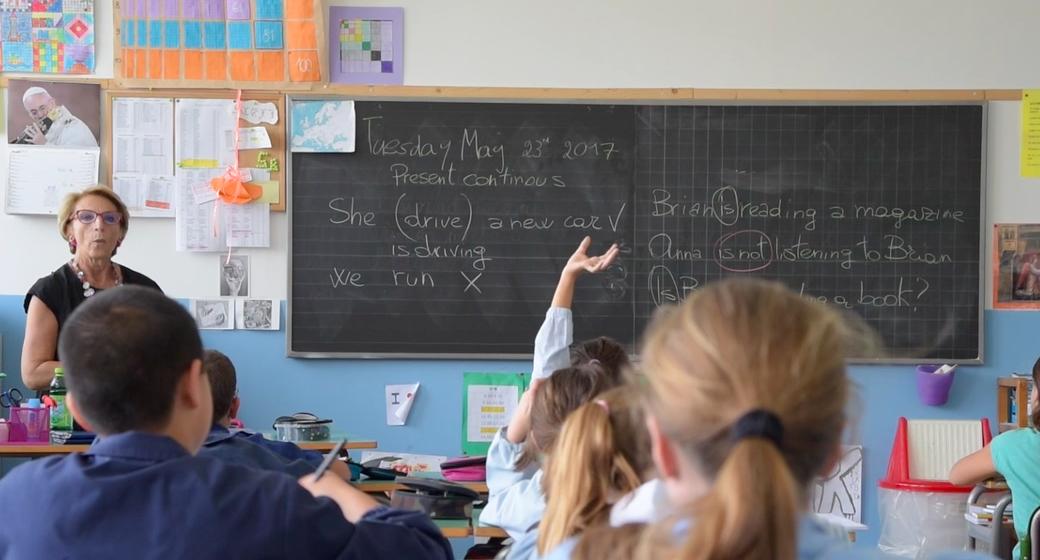 insegnamento inglese scuola primaria La Zolla