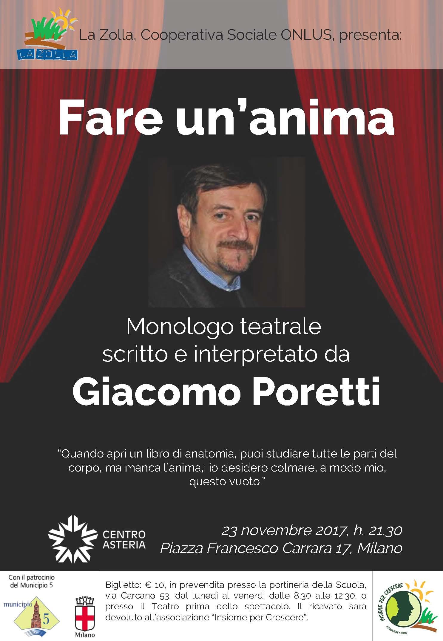 Fare un'anima, Giacomo Poretti