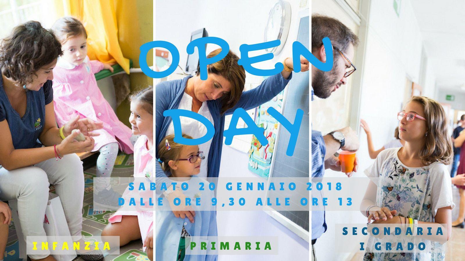 Open Day Scuola Primaria, Infanzia, Milano