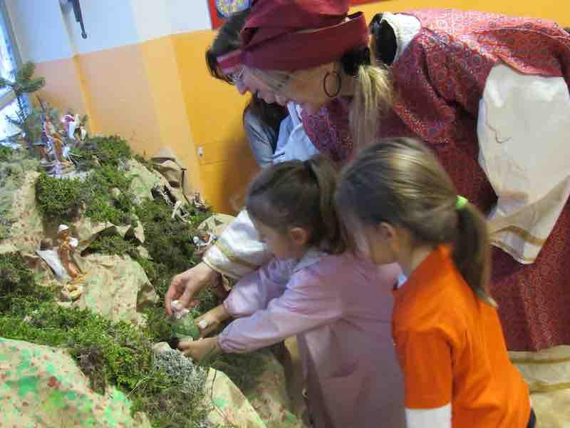 natale scuola infanzia La Zolla via CArcano
