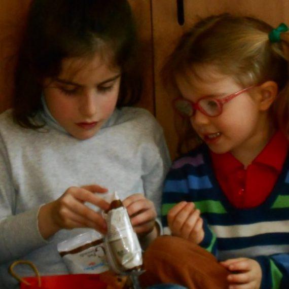 Pasqua alla scuola dell'infanzia La Zolla