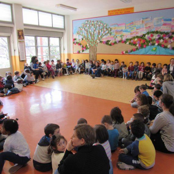 La pasqua della scuola dell'infanzia La Zolla