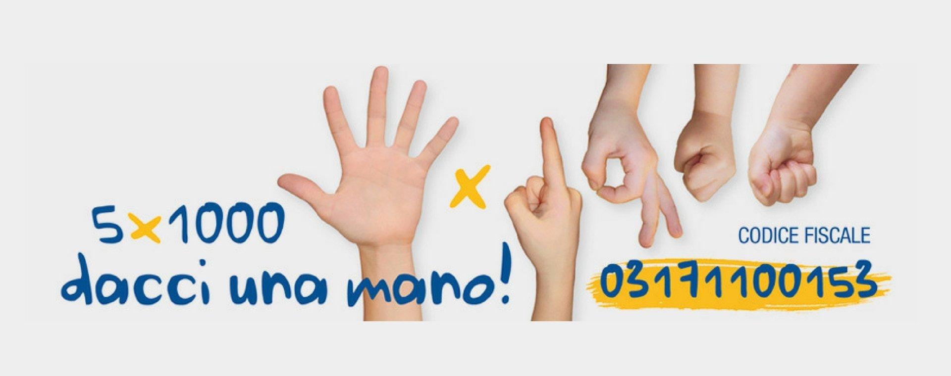 Donaci il tuo 5×1000!