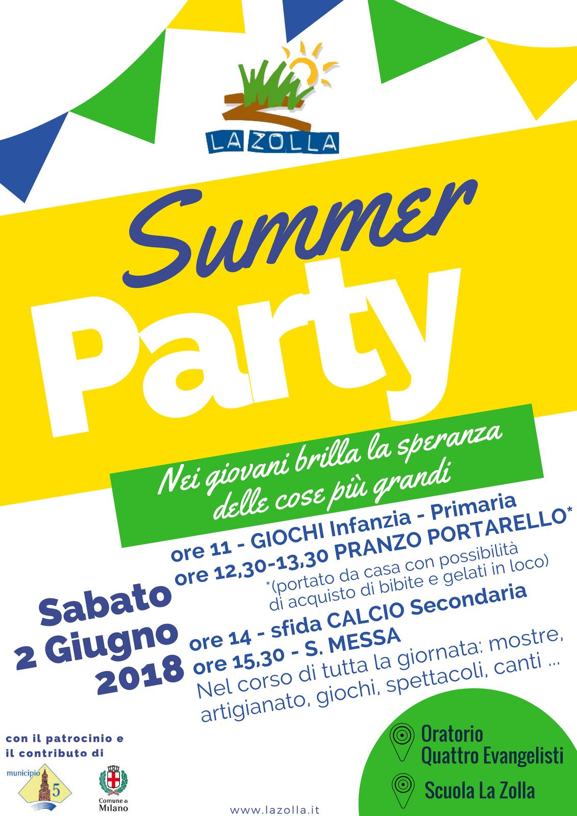 La Zolla Summer Party 2018