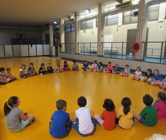 scuola infanzia La Zolla raccordo educazione motoria