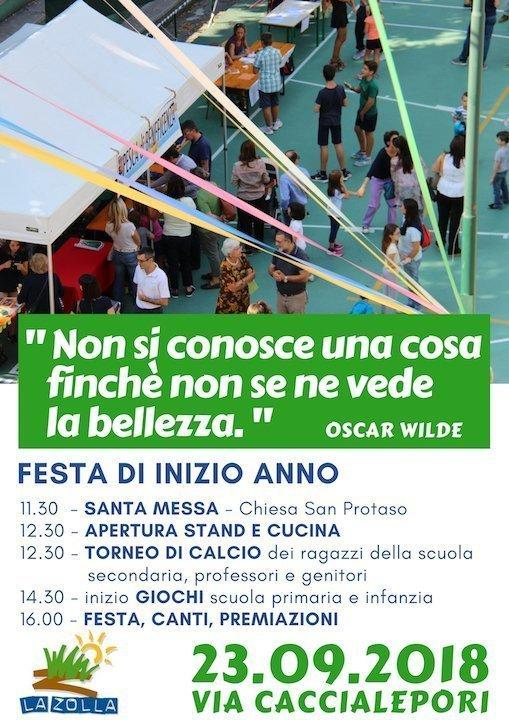 Festa inizio anno P.Brescia