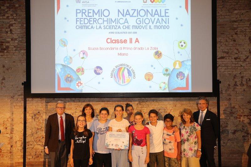 Istituto La Zolla_Milano_Premio Federchimica 2017 2018