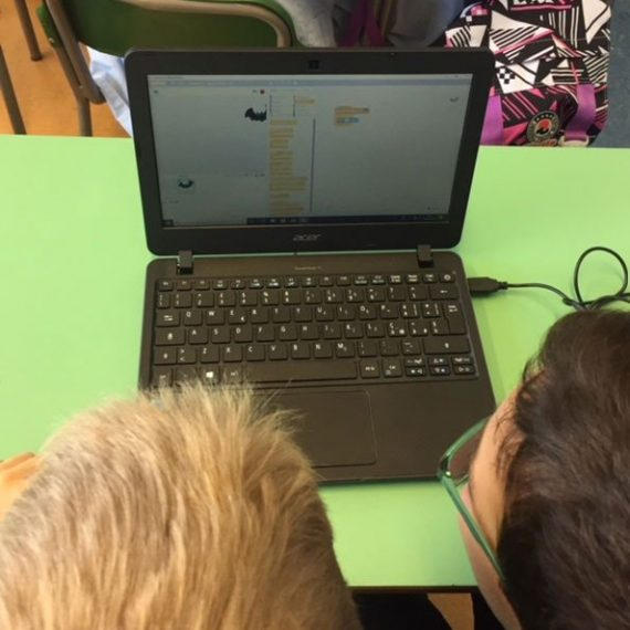 coding alla primaria la zolla piazzale brescia